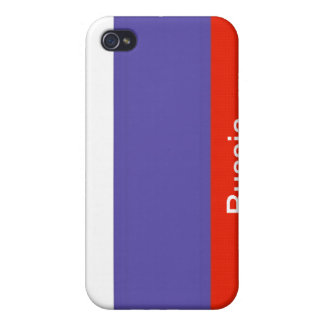 Flag of Russia Case For iPhone 4