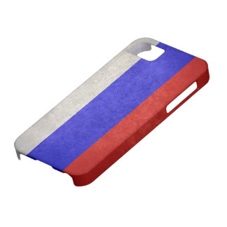 Flag of Russia iPhone SE/5/5s Case