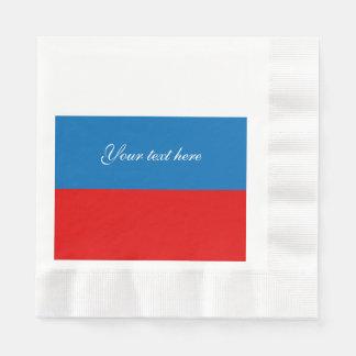 Flag of Russia Paper Napkin