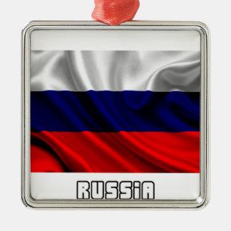 Flag of Russia, Russian Flag Metal Ornament