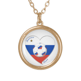 Flag of RUSSIA SOCCER of the world in 2014 Custom Necklace