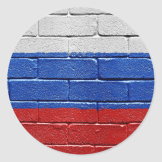 Flag of Russia Stickers