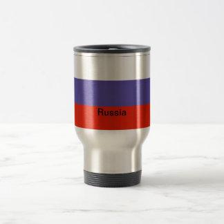 Flag of Russia Travel Mug