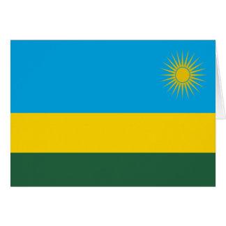 Flag of Rwanda Greeting Card
