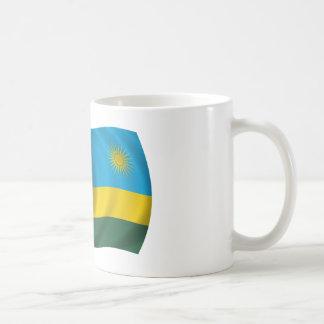 Flag of Rwanda Classic White Coffee Mug
