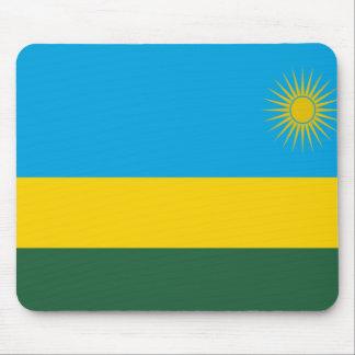 Flag of Rwanda Mouse Pad