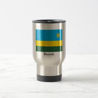 Flag of Rwanda 15 Oz Stainless Steel Travel Mug