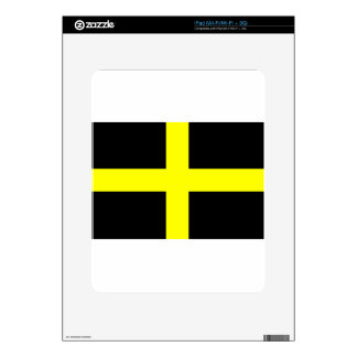 Flag of Saint David - Baner Dewi Sant Decal For iPad