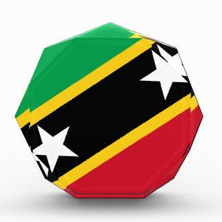 Flag of Saint Kitts and Nevis Acrylic Award