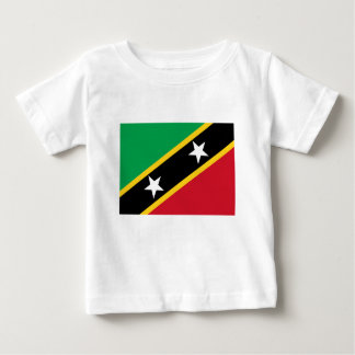 Flag of Saint Kitts and Nevis Baby T-Shirt
