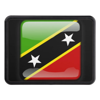 Flag of Saint Kitts and Nevis Hitch Cover