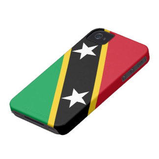Flag of Saint Kitts and Nevis iPhone 4G/4GS Case