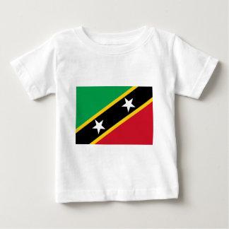 Flag of Saint Kitts and Nevis - Kittitian Nevisian Baby T-Shirt