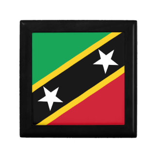 Flag of Saint Kitts and Nevis - Kittitian Nevisian Gift Box