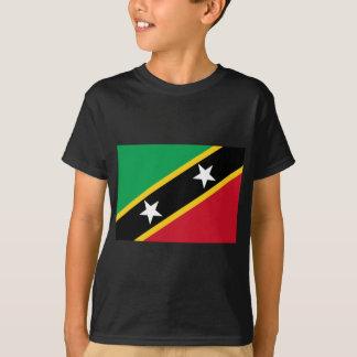 Flag of Saint Kitts and Nevis - Kittitian Nevisian T-Shirt