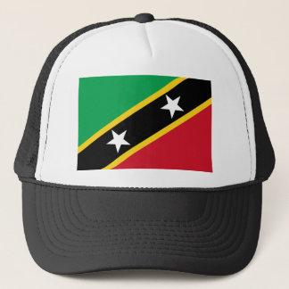 Flag of Saint Kitts and Nevis - Kittitian Nevisian Trucker Hat