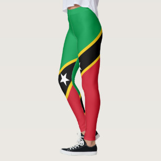 Flag of Saint Kitts and Nevis Leggings