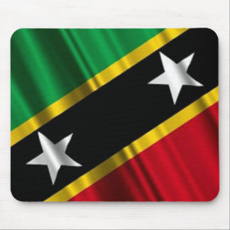 Flag of Saint Kitts and Nevis Mouse Pad. Mouse Pad