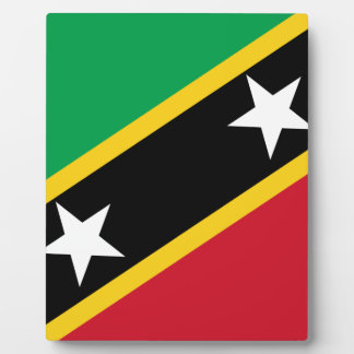 Flag_of_Saint_Kitts_and_Nevis Plaque