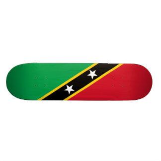 Flag of Saint Kitts and Nevis Skateboard Deck