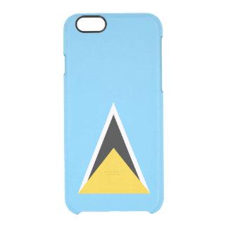 Flag of Saint Lucia Clear iPhone Case