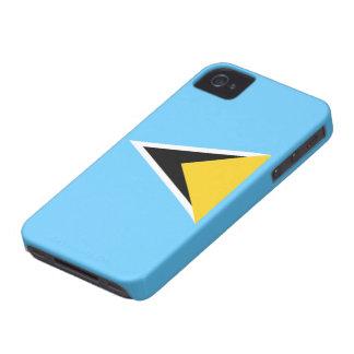 Flag of Saint Lucia iPhone 4/4S Case