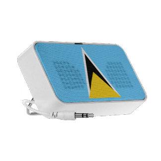 Flag of Saint Lucia OrigAudio™ Doodle speaker