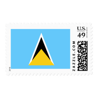 Flag of Saint Lucia Postage Stamps