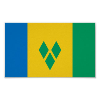 Flag of Saint Vincent and The Grenadines Print