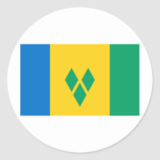 Flag of Saint Vincent and The Grenadines Stickers