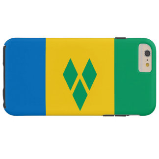 Flag of Saint Vincent and the Grenadines Tough iPhone 6 Plus Case