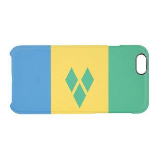 Flag of Saint Vincent Clear iPhone Case