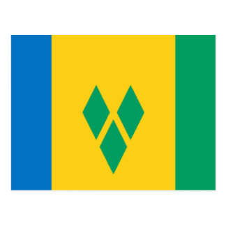 Flag of Saint Vincent Postcard