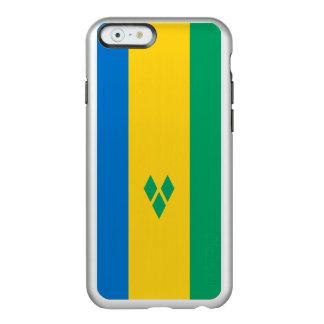 Flag of Saint Vincent Silver iPhone Case