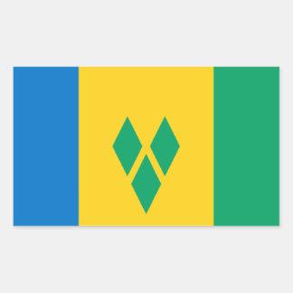 Flag of Saint Vincent Sticker