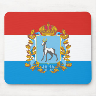 Flag of Samara oblast Mouse Pad