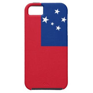 Flag of Samoa Island iPhone SE/5/5s Case