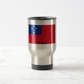 Flag of Samoa Travel Mug