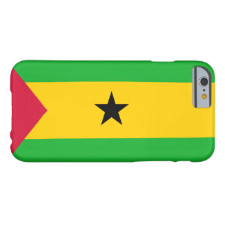 Flag of Sao Tome and Principe Barely There iPhone 6 Case