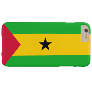 Flag of Sao Tome and Principe Barely There iPhone 6 Plus Case