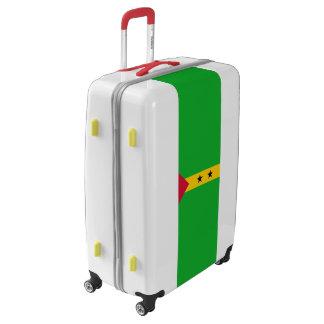 Flag of Sao Tome and Principe Luggage (Large)