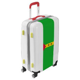 Flag of Sao Tome and Principe Luggage (Medium)