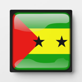 Flag of Sao Tome and Principe Plaques
