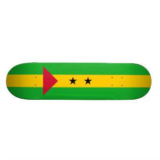 Flag of Sao Tome and Principe Skateboard Deck