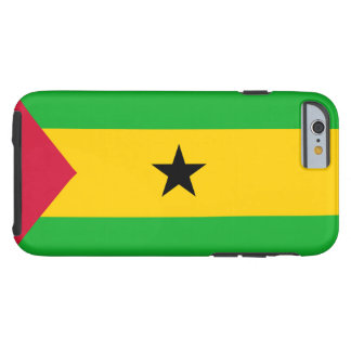 Flag of Sao Tome and Principe Tough iPhone 6 Case