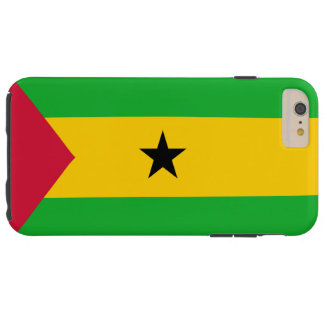 Flag of Sao Tome and Principe Tough iPhone 6 Plus Case