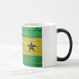 Flag of Sao Tome Magic Mug