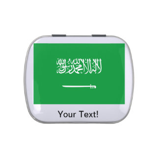 Flag of Saudi Arabia Candy Tin