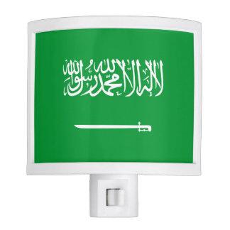 Flag of Saudi Arabia Nite Lights