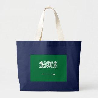 Flag of Saudi Arabia Large Tote Bag